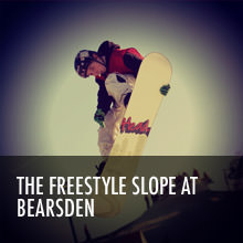 Freestyle slope at Bearsden