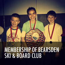 Membership of Bearsden Ski anad Board Club