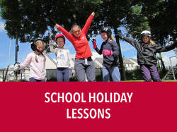 School Holiday Lessons